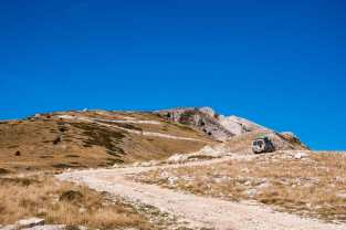Final ascent to Tomorri