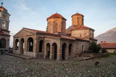 St Naum monastery