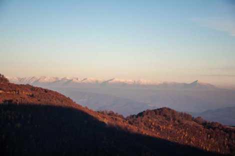 Snow on the Šara mountain already