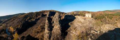 The devil's rock panorama