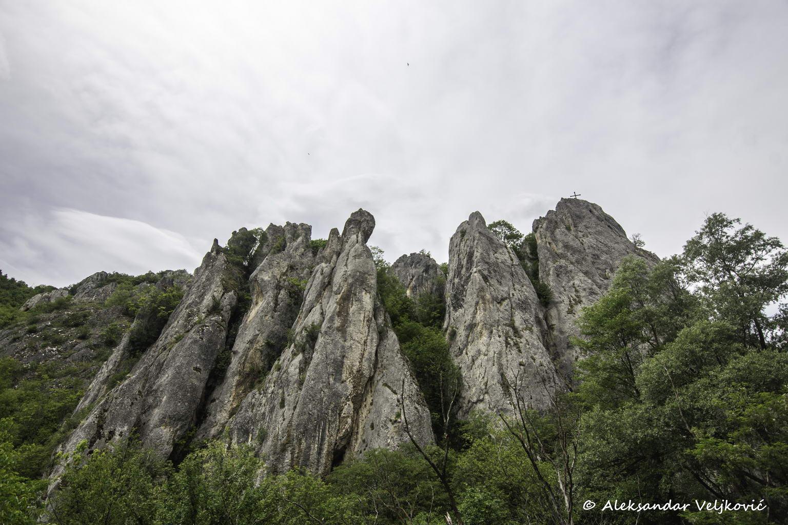 Cliffs of the Ždrelo gorge