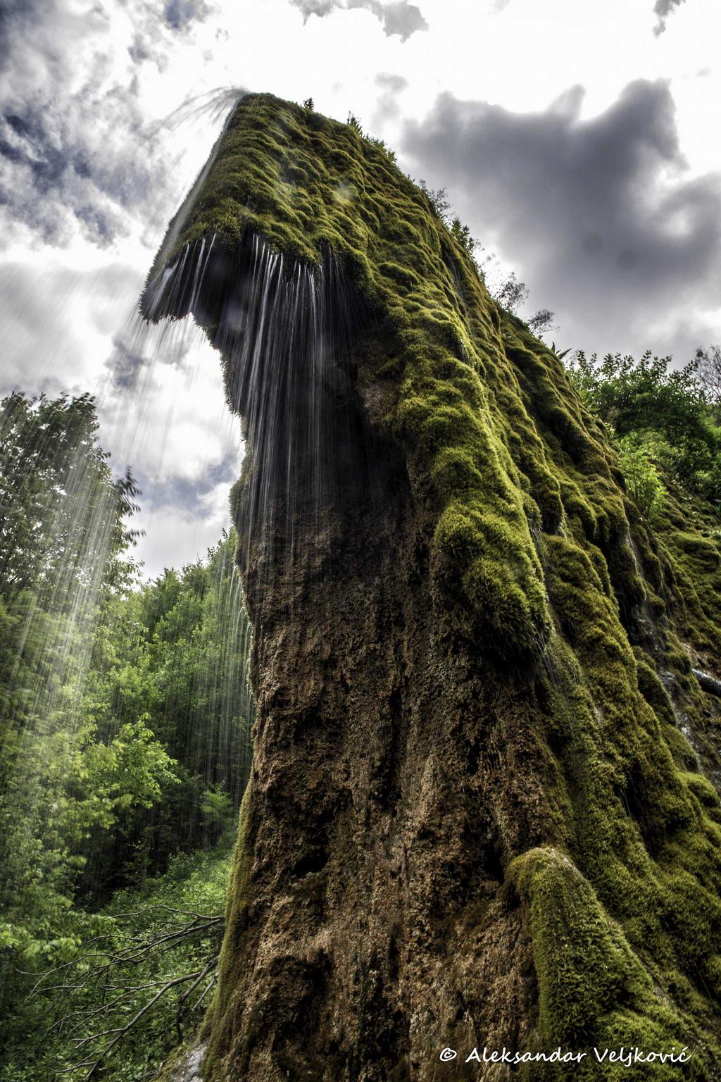 Prskalo waterfall, portrait