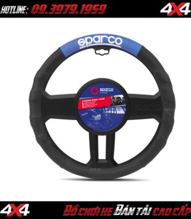 Bọc vô lăng cho xe hơi hiệu Sparco Corsa Ý – SPC1111AZ cực xịn