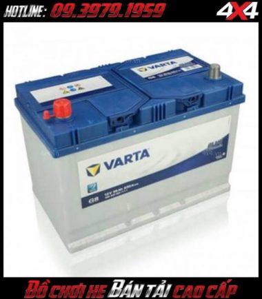 Bình ắc quy độ cho xe bán tải Ford Ranger Varta 59043 12V-90AH
