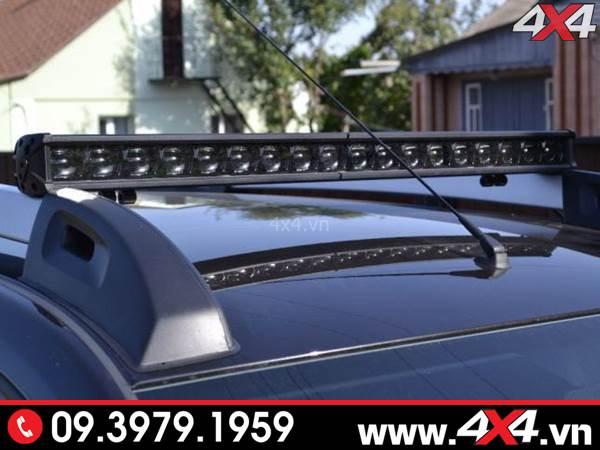 Độ đèn Ford Ranger: Đèn led bar 6D độ đẹp, ngầu và chất, tăng sáng cực tốt cho xe bán tải