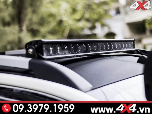 Độ đèn Ford Ranger: Đèn led bar 6D độ đẹp và tăng sáng cực tốt cho xe bán tải