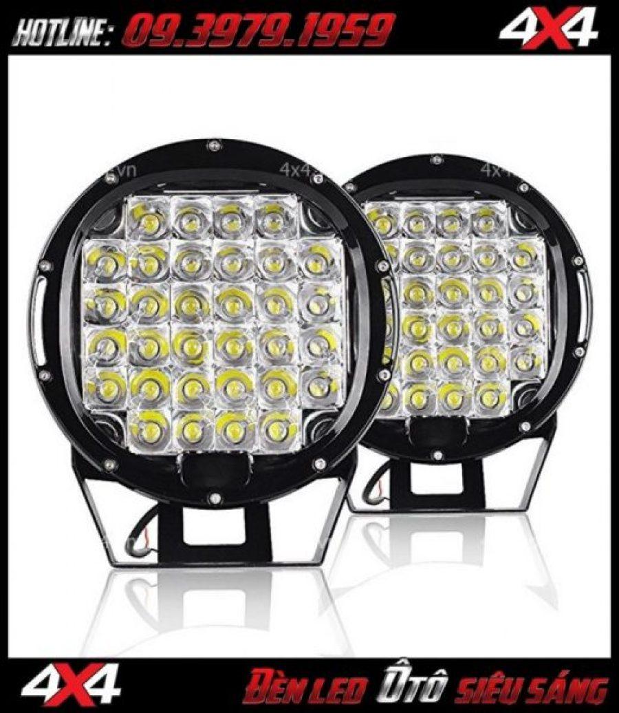 Hình ảnh đèn led ô tô: Đèn led tròn và đèn led vuông 9 inch dành gắn cho xe ô tô và xe bán tải