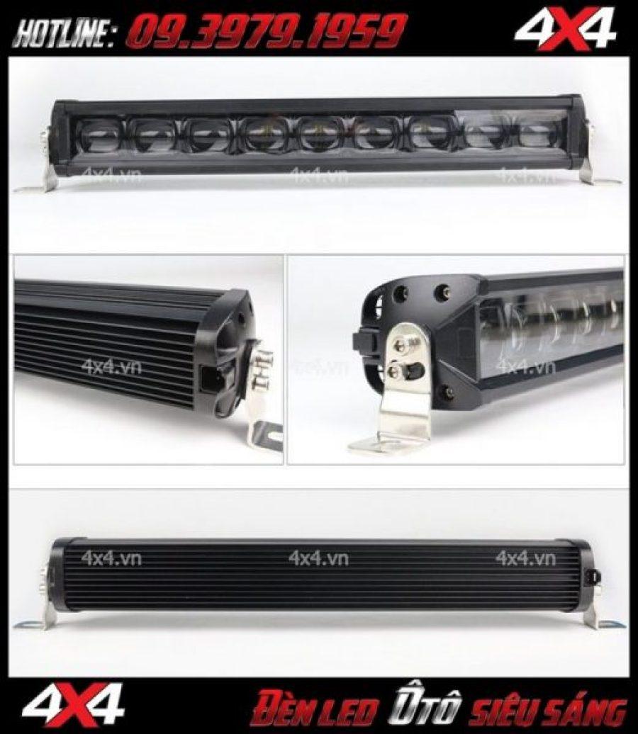 Hình ảnh đèn led bar 6D lúp lớn chất và đẹp dành cho xe ô tô xe bán tải tại TpHCM