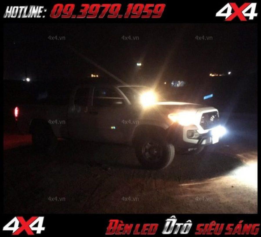 Photo: Xe bán tải độ đèn led đẹp và chất ở TpHCM
