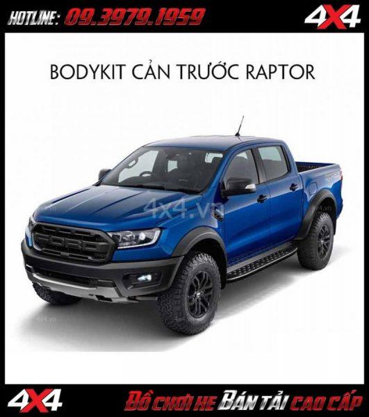 Bán bộ bodykit cản trước Ranger Raptor 2019 cho xe Ford Ranger