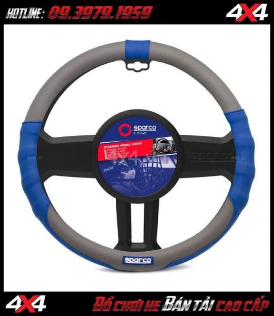 Bọc vô lăng SPARCO SPC1105 đẹp và đẳng cấp dành cho xe ô tô, xe bán tải