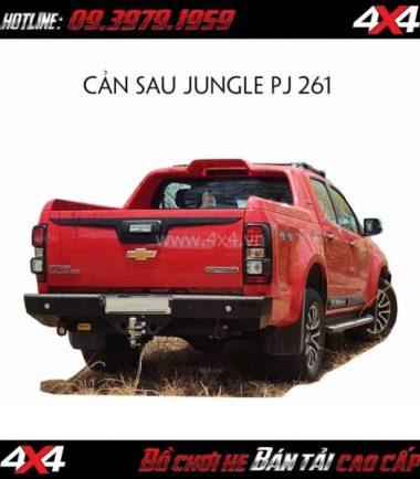 Photo Cản sau Jungle PJ 261 cho xe bán tải Chevrolet Colorado/D-Max