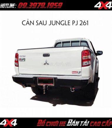 Cản sau Jungle PJ 261 cho xe bán tải Mitsubishi Triton 2018 2019 tại HCM