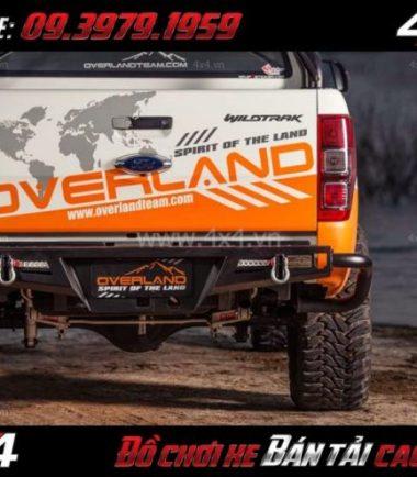 Image Cản sau Overland K2 Next Trail gắn cho xe bán tải Ford Ranger 2019 2018 ở HCM