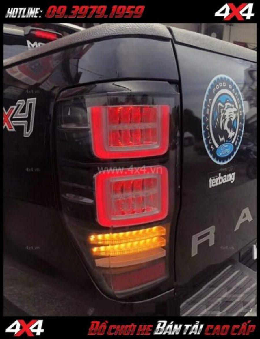 Hình ảnh Cụm đèn đuôi Ford Ranger 2018 2019 độ theo loại Ranger Rover 2018 2019 ở TpHCM