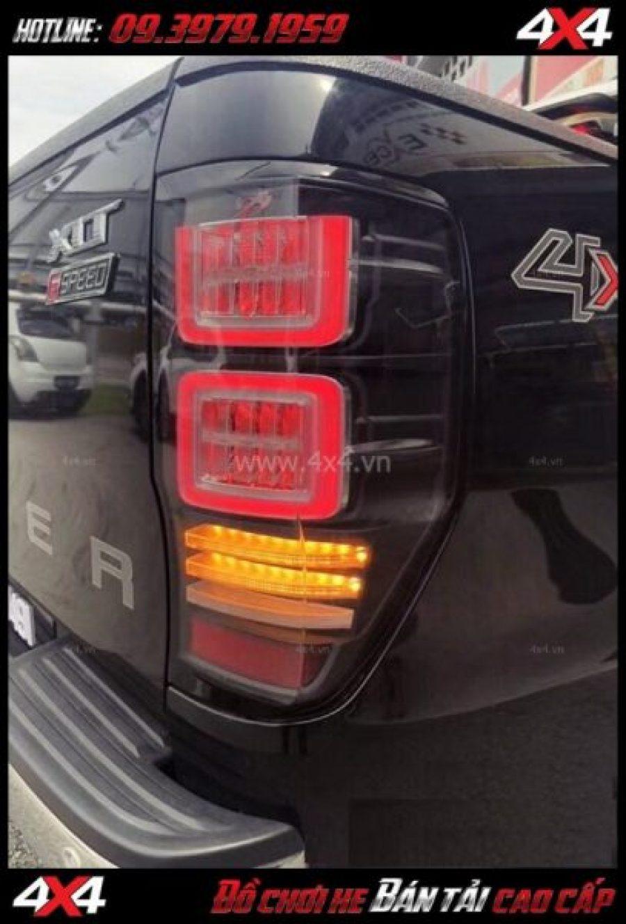 Tấm ảnh Cụm đèn hậu Ford Ranger 2019 2018 độ theo loại Ranger Rover 2018 2019 ở HCM