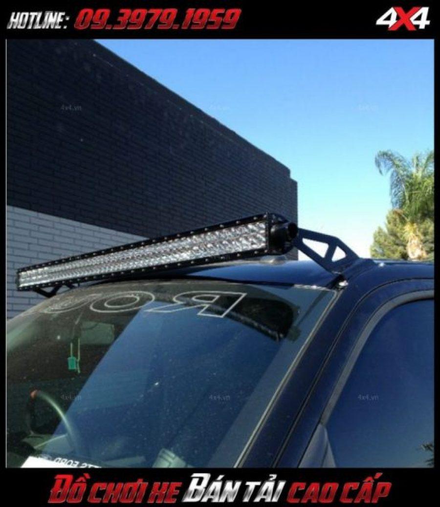 Đèn led bar ô tô, đèn led bar Ford Ranger loại 10D độ đẹp và trợ sáng cực tốt cho xe ô tô xe bán tải