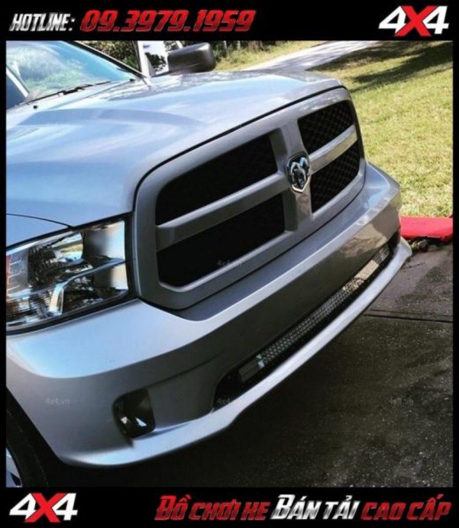 Đèn led bar cho xe offroad: Đèn led bar 8D đẹp và đẳng cấp tăng sáng cho Ford Ranger