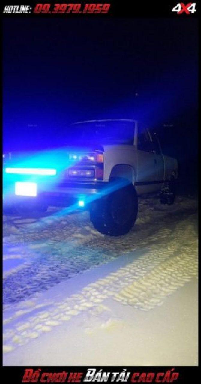 Hình ảnh led bar <strong>độ đèn Ford Ranger</strong>: Đèn led bar chất và đẳng cấp dành cho ô tô, bán tải ở TpHCM