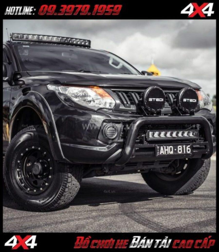 Tấm ảnh Đèn led bar Stedi 31 Inch Crved ST2K Super độ cho xe bốn bánh xe bán tải