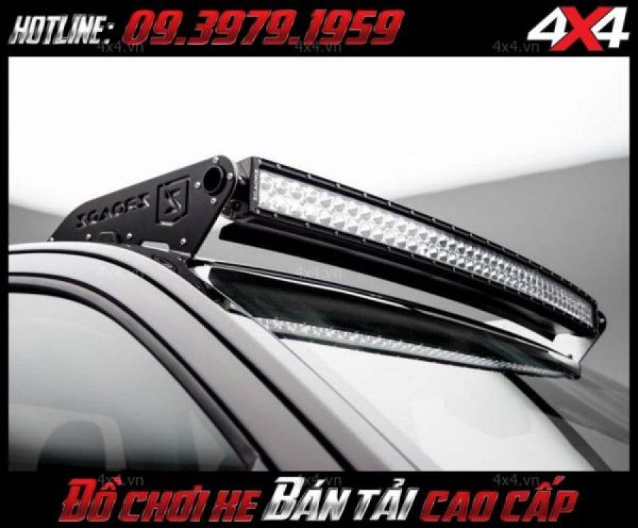 Đèn nóc xe bán tải với 2 hàng led độ đẹp, chất và đẳng cấp cho xe Ford Ranger tại HCM