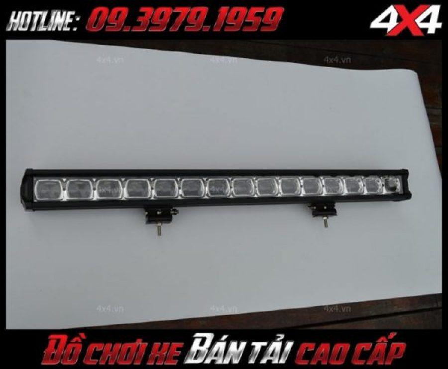 Hình ảnh đèn led bar 6D dành độ cho xe bán tải Ford Ranger, Chevrolet Colorado