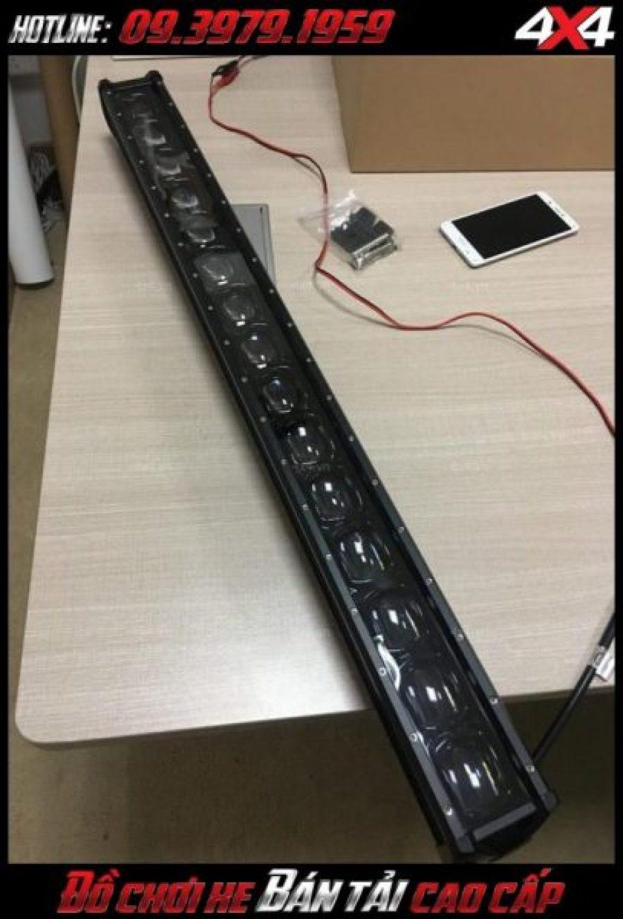 Đèn led bar ô tô, Đèn led bar xe bán tải: Mẫu đèn led bar 6D độ đẹp và lắp phổ biến cho xe ô tô, xe bán tải