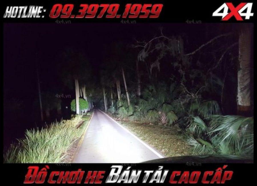 Đèn led bar 8D: Mẫu đèn nóc xe bán tải cho ánh sáng siêu sáng và chân thực