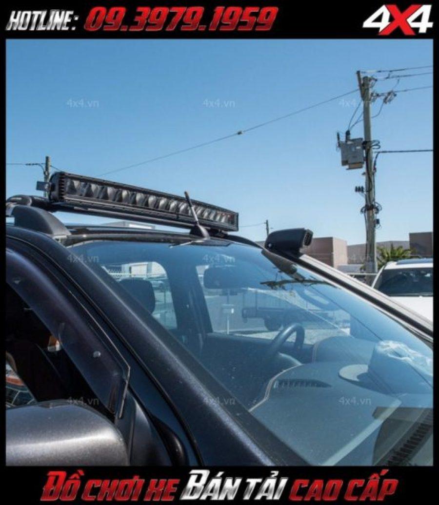 Đèn led bar ô tô: Đèn Stedi gắn nóc xe bán tải cực đẹp và đẳng cấp