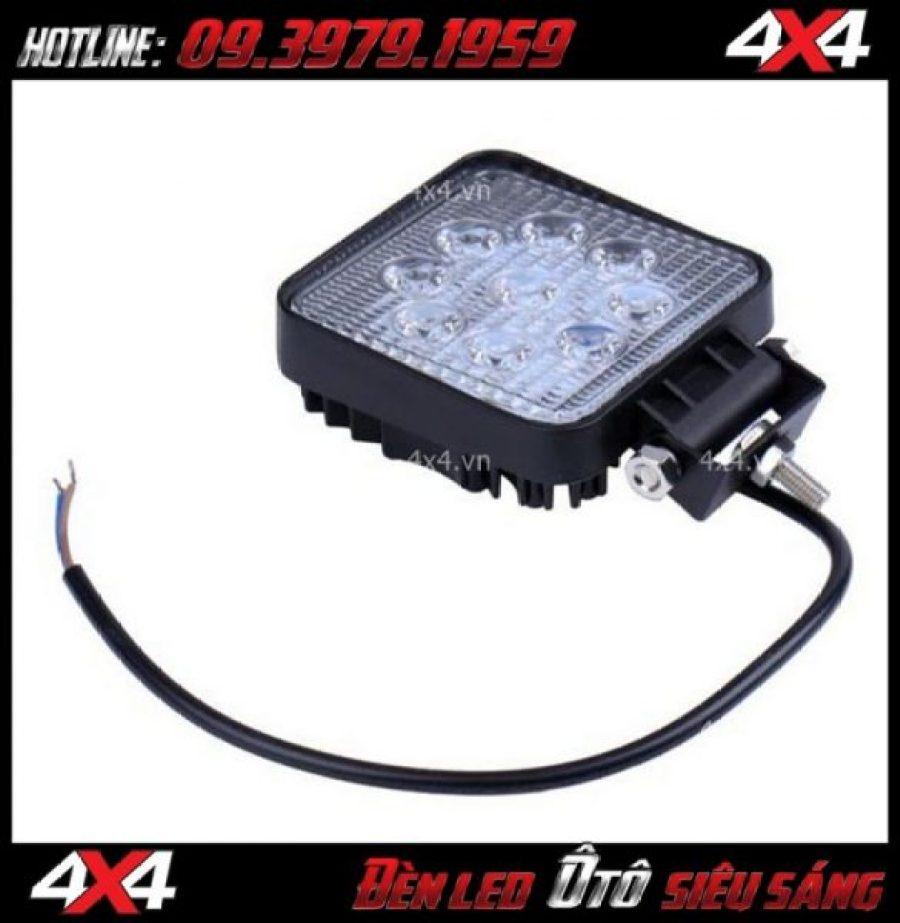 Đèn nóc xe bán tải: Đèn led vuông dành độ đẹp và đẳng cấp cho xe ô tô xe bán tải Ford Ranger