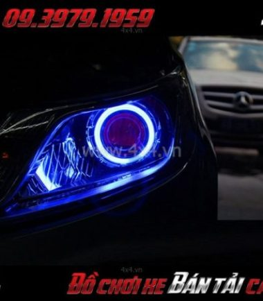 Tấm ảnh Vòng led angels eyes thay đẹp và bắt mắt cho xe ô tô, xe bán tải tại HCM