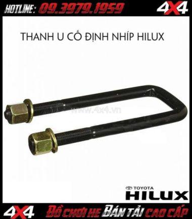 Thanh chữ U cố định nhíp Omeu53a dành cho xe bán tải Toyota Hilux