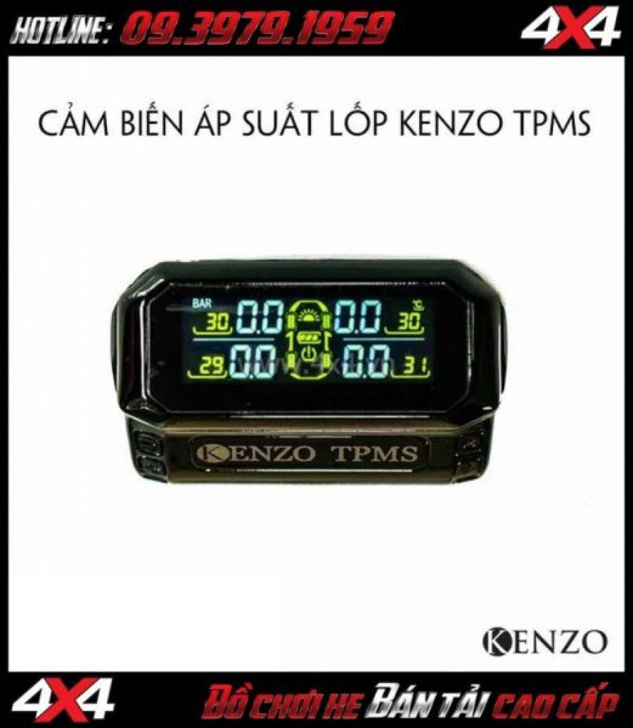 Tấm ảnh Bán cảm biến áp suất lốp gắn ngoài TPMS E100 Kenzo chất lượng giá rẻ tại Sài Gòn