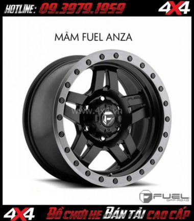 Picture Bán mâm 18 Inch: Mâm Fuel One Piece Anza D557 cho xe off-road và xe SUV