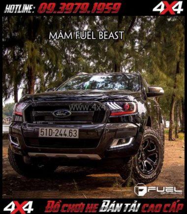 Image Bán mâm 18 Inch: Mâm Fuel One Piece Beast D562 dành cho xe pickup và xe SUV