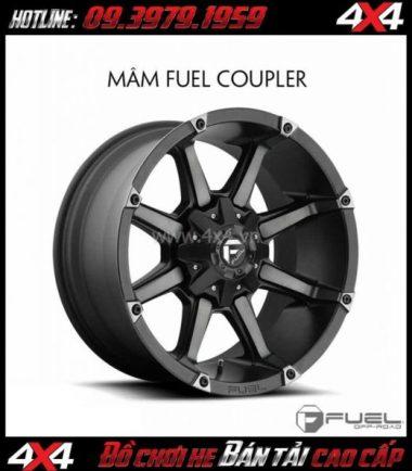 Bán mâm 18 Inch: Mâm Fuel One Piece Coupler D556 cho xe bán tải
