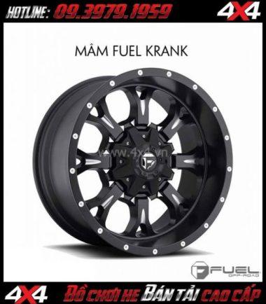 Bức ảnh: Bán mâm 18 Inch: Mâm Fuel One Piece Krank D517 cho xe pick up và SUV