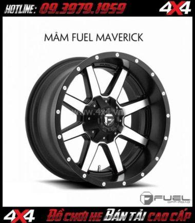 Bán mâm 18 Inch: Mâm Fuel One Piece Maverick D537 cho xe bán tải và SUV