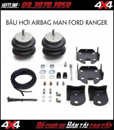 Photo Bầu hơi Airbag Man dành gắn cho xe off-road Ford Ranger 2018 và Madza BT-50