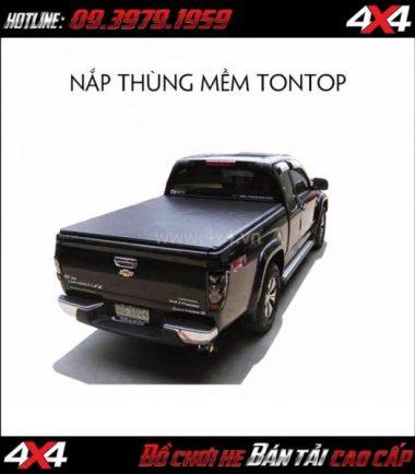 Chuyên cung cấp nắp thùng mềm Tontop cho Chevrolet Colorado