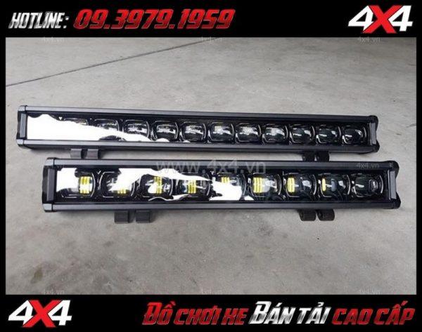 Hình ảnh Đèn led bar 6D trợ sáng và thay đẹp cho xe bán tải Ford Ranger 2019 tại Sài Gòn