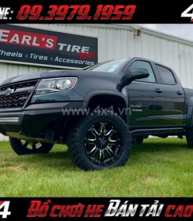 Tấm ảnh Mâm xe ô tô thể thao: Mâm Blackrhino Sierra Gloss Black 20 Inch dành cho xe pick up và SUV ở HCM