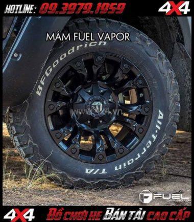 Hình ảnh Mâm xe hơi cứng cáp: Mâm Fuel One Piece Vapor D560 dành cho xe SUV và xe bán tải