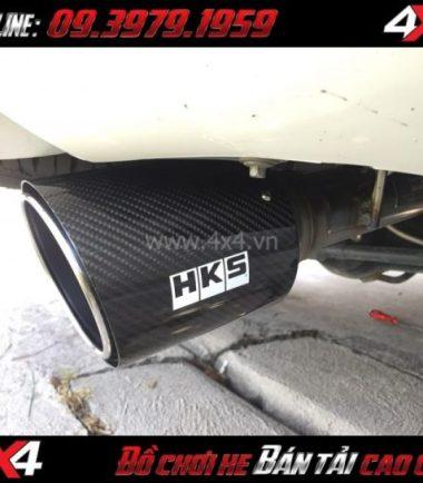 Picture Pô HKS Ford Ranger đuôi carbon độ xe thể thao và đẳng cấp hơn