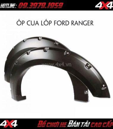 Tấm ảnh: Ốp cua đinh lốp Ford Ranger 2019 độ chất và thể thao cho xe bán tải ở TpHCM