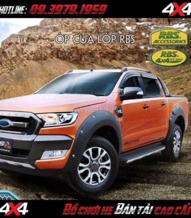 Hình ảnh Ốp cua lốp RBS cho xe bán tải Ford Ranger 2019 tại Tp.HCM