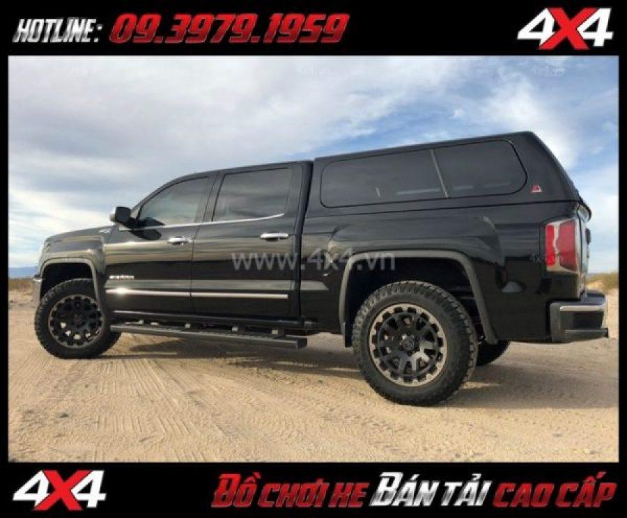 Picture bán mâm 18 inch: : Mâm Black Rhino Razorback 18x9 ET-12 lắp đẹp cho xe bốn bánh xe bán tải
