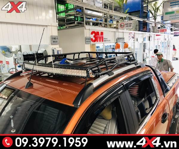 Đồ chơi xe Ford Ranger: Baga mui Jungle tiện dụng và cứng cáp độ xe bán tải Ford Ranger