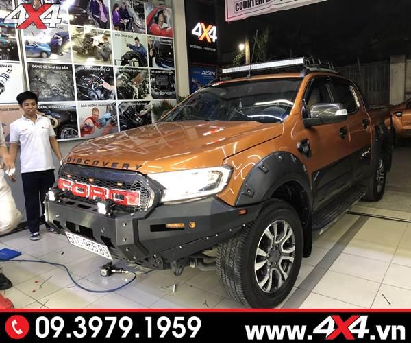 Đồ chơi xe Ford Ranger: Xe Ford Ranger độ cản trước hầm hố và nhiều món đồ chơi khác tại HCM