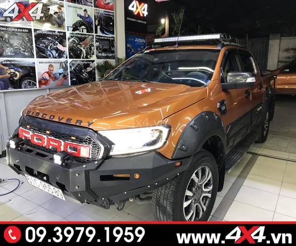 Đồ chơi xe Ford Ranger: Cản trước KSC Striker đẹp, chất và cứng cáp độ xe bán tải Ford Ranger